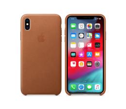 Etui / obudowa na smartfona Apple iPhone XS Max Leather Case Saddle Brown