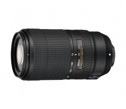 Obiektyw zmiennoogniskowy Nikon Nikkor AF-P 70-300mm f/4.5-5.6E ED VR
