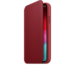 Etui / obudowa na smartfona Apple iPhone XS Leather Folio Product Red