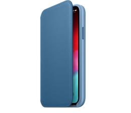Etui / obudowa na smartfona Apple iPhone XS Leather Folio Cape Cod Blue