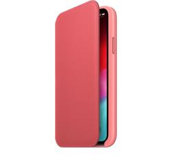 Etui / obudowa na smartfona Apple iPhone XS Leather Folio Peony Pink