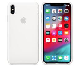 Etui/obudowa na smartfona Apple iPhone XS Max Silicone Case White
