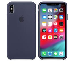 Etui / obudowa na smartfona Apple iPhone XS Max Silicone Case Midnight Blue