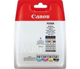 Tusz do drukarki Canon CLI-581 zestaw CMYK