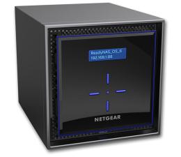 Dysk sieciowy NAS / macierz Netgear ReadyNAS 424 (4xHDD, 2x1.5-2.2GHz,2GB,2xUSB,2xLAN)