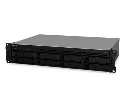 Dysk sieciowy NAS / macierz Synology RS1219+ RACK (8xHDD, 4x2.4GHz, 2GB, 2xUSB, 4xLAN)