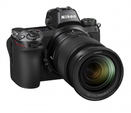 Bezlusterkowiec Nikon Z6 + 24-70mm f/4 + adapter FTZ