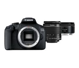 Lustrzanka Canon EOS 2000D 18-55mm IS + 50mm f/1,8S