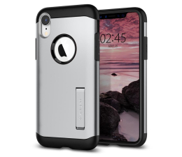 Etui/obudowa na smartfona Spigen Slim Armor do iPhone XR Satin Silver