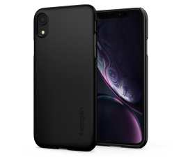 Etui/obudowa na smartfona Spigen Thin Fit Case do iPhone XR Black
