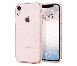 Etui/obudowa na smartfona Spigen Liquid Crystal do iPhone XR Glitter Rose Quartz