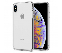 Etui / obudowa na smartfona Spigen Liquid Crystal do iPhone XS Max Clear