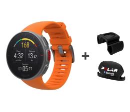 Zegarek sportowy Polar Vantage V combo pomarańczowy