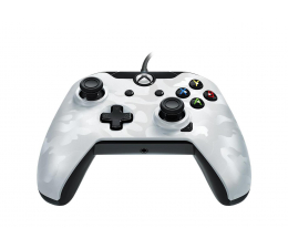 Pad PDP Xbox One Controller - Delux Camo White (przew.)