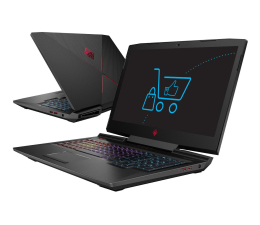 "Notebook / Laptop 17,3"" HP OMEN 17 i5-8300H/8GB/240+1TB GTX1050"