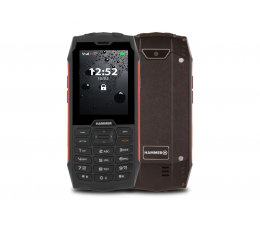 Smartfon / Telefon myPhone HAMMER 4 czerwony