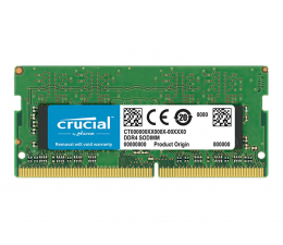Pamięć RAM SODIMM DDR4 Crucial 16GB 2666MHz CL19 1.2V