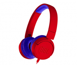 Słuchawki przewodowe JBL JUNIOR JR300 czerwono-granatowy