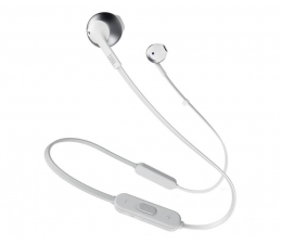 Słuchawki bezprzewodowe JBL T205 BT Srebrny