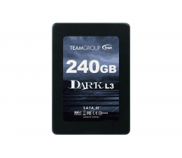 "Dysk SSD Team Group 240GB 2,5"" SATA SSD Dark L3"