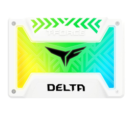 "Dysk SSD Team Group 250GB 2,5"" SATA SSD T-Force Delta RGB White"
