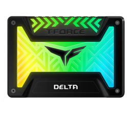 "Dysk SSD Team Group 250GB 2,5"" SATA SSD T-Force Delta RGB Black"