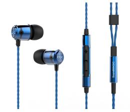 Słuchawki przewodowe SoundMagic E50C Blue-Black