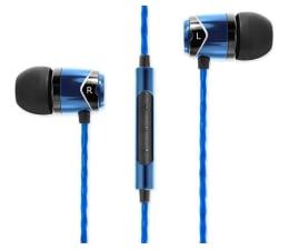 Słuchawki przewodowe SoundMagic E10C Black-Blue