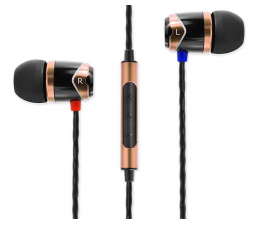 Słuchawki przewodowe SoundMagic E10C Black-Gold