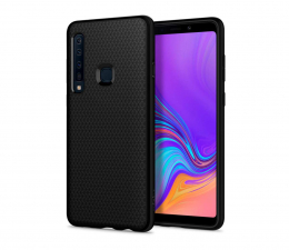 Etui/obudowa na smartfona Spigen Liquid Air do Galaxy A9 2018 Black