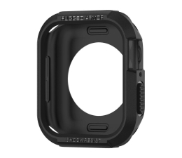Etui / obudowa na smartwatcha Spigen Rugged Armor do Apple Watch 4/5 czarny