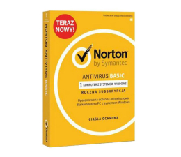 Program antywirusowy Symantec Norton Antivirus Basic 1st. (12m.)