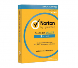 Program antywirusowy Symantec Norton Security Deluxe 3st. (12m.)