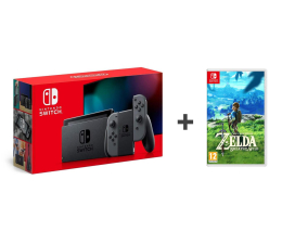Konsola Nintendo Nintendo Switch Joy-Con Gray + Zelda: Breath of the Wild
