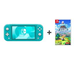 Konsola Nintendo Nintendo Switch Lite (Morski) + Zelda: Link's Awakening