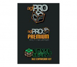 Gra na PC Axis Game Factory Axis Game Factory's AGFPRO+Voxel Sculpt+PREMIUM