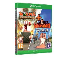 Gra na Xbox One Xbox Worms Battlegrounds + Worms W.M.D.