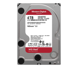 Dysk HDD WD RED 4TB 5400obr. 64MB