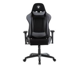 Fotel gamingowy Silver Monkey SMG-550 (Czarno-Szary) Materiał