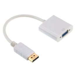 Przejściówka Gembird Adapter DisplayPort - VGA (Biały)