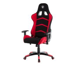 Fotel gamingowy Silver Monkey SMG-450 (Czarno-Czerwony) Materiał