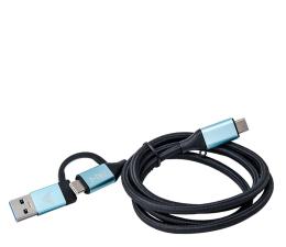 Przejściówka i-tec Kabel USB-C - USB-C/USB, 1m