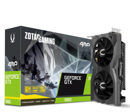 Karta graficzna NVIDIA Zotac GeForce GTX 1660 Gaming AMP 6GB GDDR5