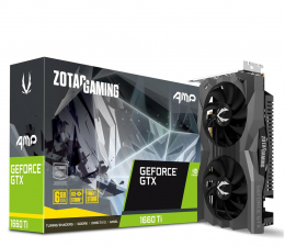 Karta graficzna NVIDIA Zotac GeForce GTX 1660 Ti Gaming AMP 6GB GDDR6