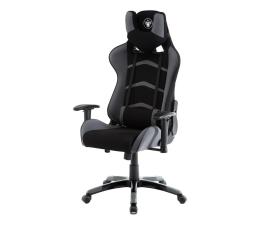 Fotel gamingowy Silver Monkey SMG-450 (Czarno-Szary) Tkanina