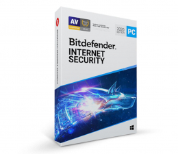 Program antywirusowy Bitdefender Internet Security 2020 3st. (12m.) ESD