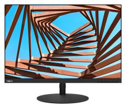 """Monitor LED 24"""" Lenovo ThinkVision T25d czarny"""