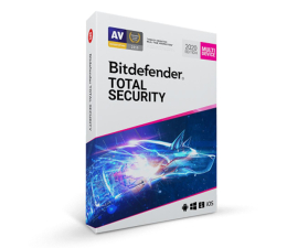 Program antywirusowy Bitdefender Total Security 2020 5st. (36m.) ESD