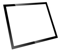 Akcesorium do obudowy Fractal Design Panel Define R6 hartowane szkło Light Black
