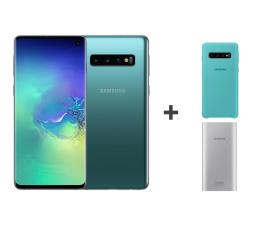 Smartfon / Telefon Samsung Galaxy S10 G973F Prism Green 512GB + ZESTAW